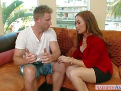 Step Mom Diamond Foxxx, Marsha May, Threesome