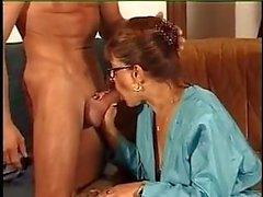 FRANCÊS MADURO n39 ruiva mãe com um jovem