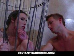 DeviantHardcore - Cock Worshiper Casey Calvert Gets Dominated