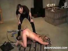 BDSM Anal Hook And Machine Fuck