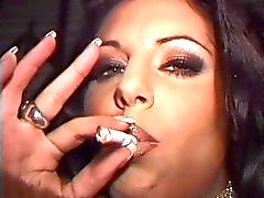 Ariana Compilação de fumo da fetiche