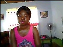 africano della ragazza adozione dei del vestito in pezzo CAM 1