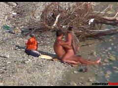 Beach-Sex auf versteckte Kamera gefangen