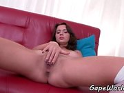 Busty euro babe anally plowed before sucking
