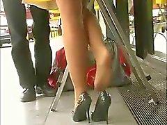 Erstaunlichen Legs Hellbraun Trumpfhose