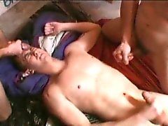 Filthy threesome one horny homo part1