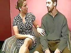 Stepmom Heals Teen Guys Cumswollen Balls