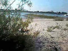 beach flasher cum