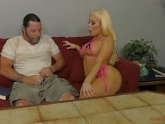 Hot Latina Domine Her Next Door Neighbour - Nikki Delano - Dominatrice