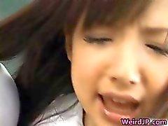Super kiimainen japanilainen Babes äärimmäisessä Part4