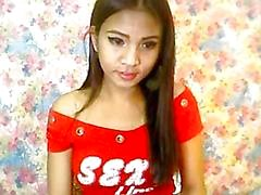 Cute Asian Ladyboy Masturbasyon