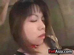Asian Slut Gets Breasts Milked