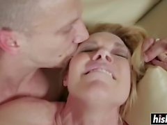 Alexa Styles in stockings gets slammed