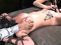BDSM sub Veruca James cant climax