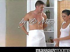 Massage Rooms - Horny Czech teen masseuse