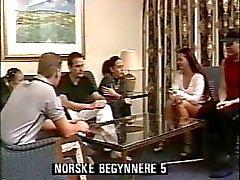 Iniciantes noruegueses 5 orgia e cena enfermeira