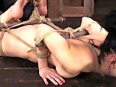 Frogtied séance de esclavage