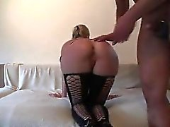 Blonde allemande en tenue de latex fuck Ok from 1fuckdatecom