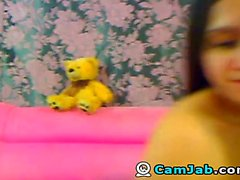 Hot Babe Striptease on Adult Cam
