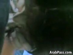 Arab donnant son Jules une belle pipe