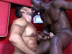 Big dick sexo oral gay com facial