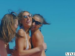 VIXEN Riley Reid, August Ames and Abella Danger's Day Out