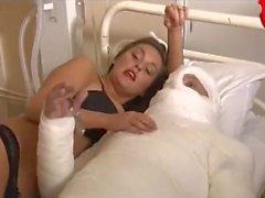 Maria Shumakova Boobs Grope et nu devant diverses personnes