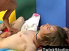 Twink movie of The super-cute tattooed and