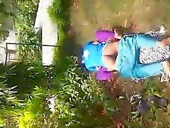 Baiser cpl indiennes à Park