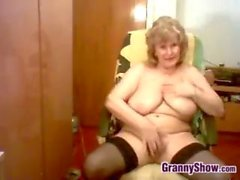 she is a granny who still has the sexual urge