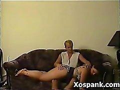 Удивительные Spanking милф Явное Sex