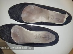 Ofis civciv balerinas istismar - Onları giyer!