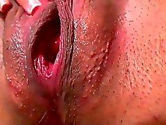 Pregnant Girl Rubbing Herself
