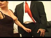 Lady Florence gangbanged in stockings