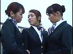 Ravishing Японские девушки раскрыть свои лесбийские желания и