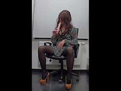 Mi preciosa secretarias sexy cuerpo-2)