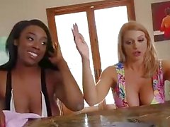 Brooklyn Chase and Lisa Tiffian Share Mandigo's BBC