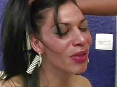 Tranny gets fucked and fisted