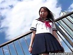 Japanischen Schul & Boys öffentlich Teil 6