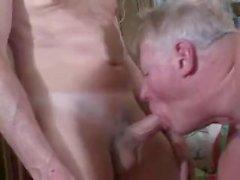 Зрелый Bisex Threesome