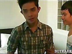 Vahşi seks sevimli Asya gay boys