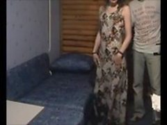 Amateur wife fucked by younger on hidden cam