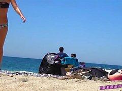 Super Sexy Ass Thongs Bikini teens Strand Voyeur HD Spy Video