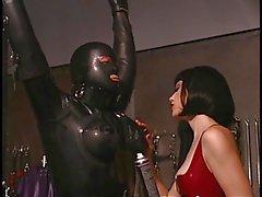 Maestra cornea ottenere la sua schiava pronti per una certa azione