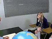 Sex education turns into group orgy