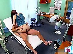 Busty housewife cum filled ass