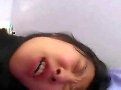Koreaanse student neukt westerse lullen -3