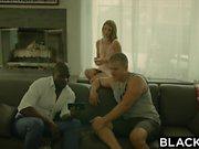 BLACKED Erste Interracial Für Naughty Schwester Ally Tate