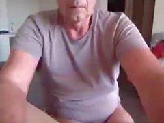 stilig pappa visar sin asshole!