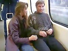 Подросток Ф. засасывает Б.Ф. член в общественных местах всем протяжении города
